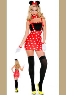 Sexy Darling Miss Minnie Mouse Costume