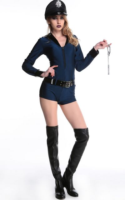 Police Woman Sexy Co...