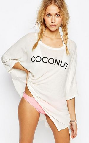 Coconut Sunday Morning Tee