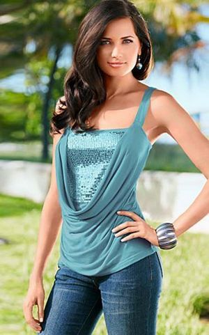 Chic Slim Fit Cami T...