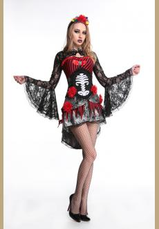 Deadly Damsel Sugarskull Costume