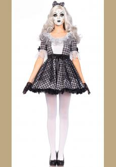 Sexy Women's Pretty Porcelain Doll Costume
