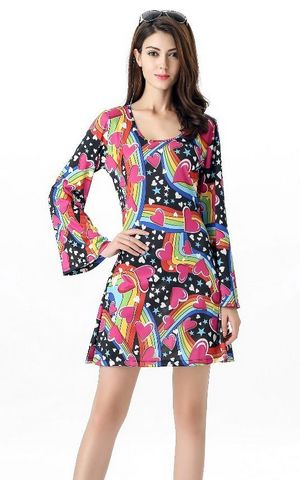Happy Hippie Dress C...