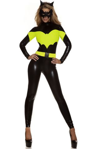 Darque Nights Sexy Superhero Women Halloween Costume