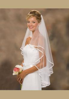 The bride marriage yarn fashion yarn double ribbon serging double modelling veil and combs