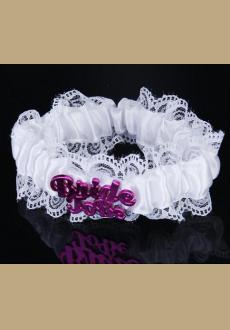 The new bride to be letters bridal party decoration leg circle bachelor party white leg ircle