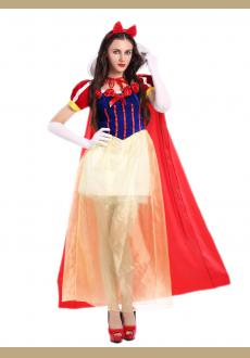 Sexy Adult White Fancy Dress Fashion Princess Costume For Women