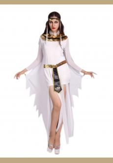 high split Greek Goddess costume,it comes with dress,headwear,neckwear,waistband