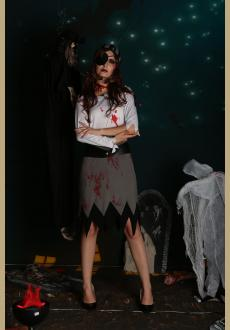 halloween bloody pirate costume,accessory:headwear,eyewear