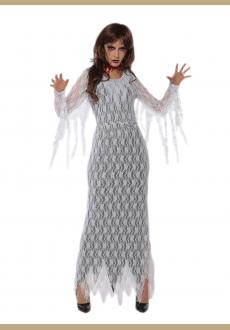 Horror zombie costume halloween blood ghost costume for women