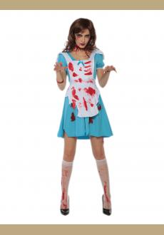 Halloween cospaly costume fashion fancy maid costume for women