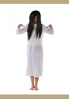 white Japanese scary movie Sadako costume