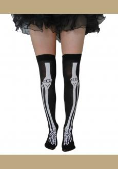party party skeleton socks costumes accessories adult stockings printing skeleton stockings