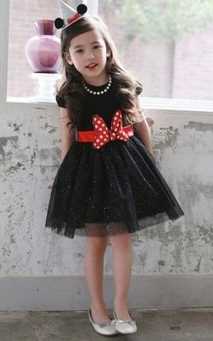 children Minnie bow ...