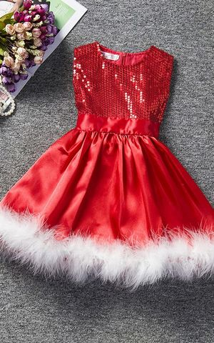 Girl sequin dress Ch...