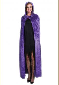 Halloween cape cosplay costume party performance clothing dense velvet cloak witch witch cloak