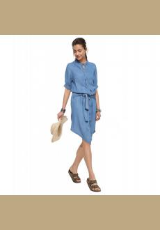 Casual Demin Long Sleeves Shirt Jeans Dress