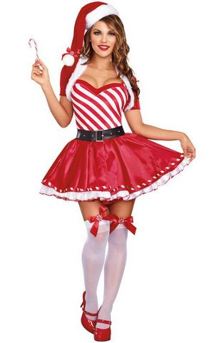 Candy Cane Cutie Cos...