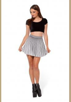 Wholesale Black Milk Skirt Henchmen Cheerleader Skater Skirt