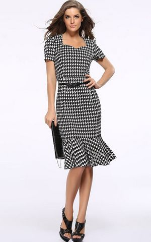 Stylish Houndstooth ...
