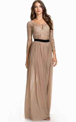Long Sleeve Maxi Dre...