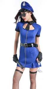 Adult Bad Cop Costum...