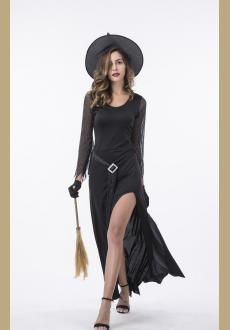 Women's Black Witch Halloween Costume