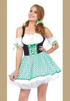 German Oktoberfest Beer Maid Costume Bavarian Traditional Costume