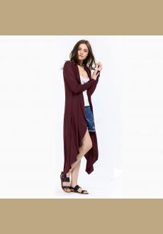 Fashion ladies' long cardigans knit sweaters for women casual autumn summer Long-sleeve sweaters