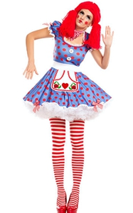 Harlequin Circus Mime Cirque Clown Jester Fancy Dress Halloween Costume
