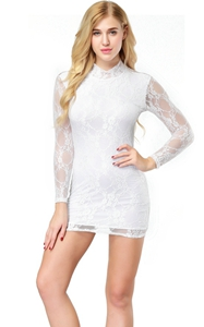 Sexy Lace Minidress ...
