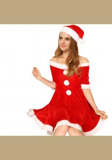 White Christmas Costumes Sexy  Costume In Christmas Party