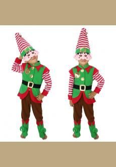 Wholesale Santa Claus's Little Elf Baby Costume Christmas Holiday Party Baby Costume