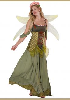Forest Princess Costume Adult Halloween Fairy Costume