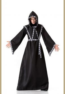 Gothic Witch Halloween Costume Adult Witch Fancy Dress Witch Wicked Cosplay