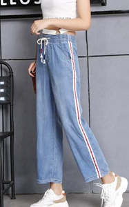 Women Denim Wide Leg...