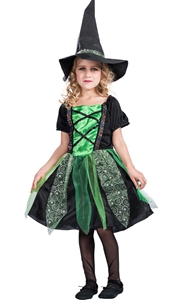 Children Witch Dress...