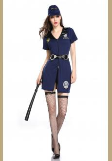 Sexy Halloween Costume For Women Police Costume Sexy Cop Outfit Woman Cosplay Sexy Erotic Police Women Costume
