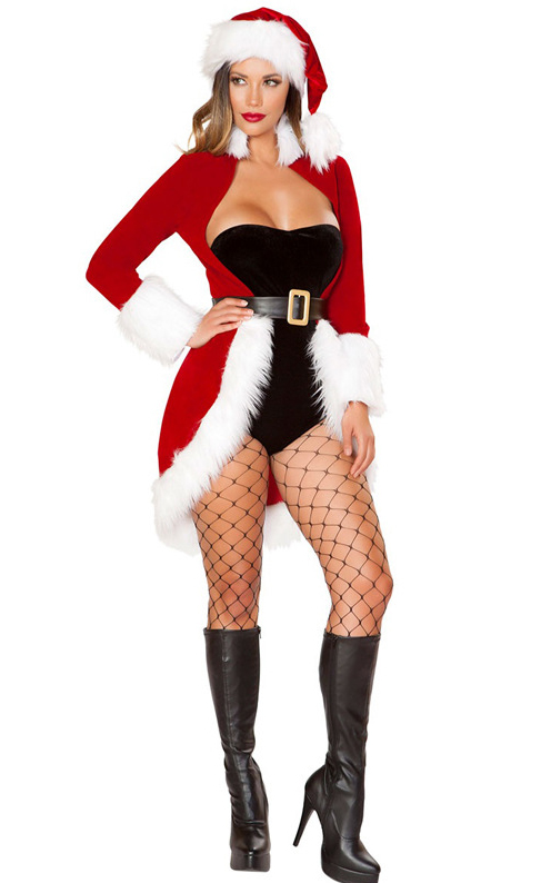 Women Mrs. Claus Cos...