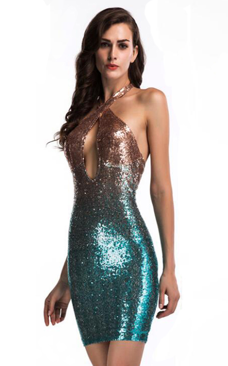 Sequined Sleeveless ...
